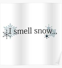Gilmore Girls - I Smell Snow... Poster