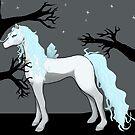 Creepy Crystal Horse by Palomino1234