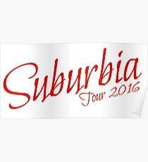 Troye Sivan Suburbia Tour 16 Poster