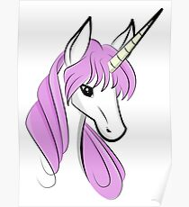 Cute Unicorn Poster