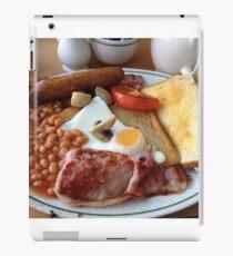 British Fried Breakfast iPad Case/Skin