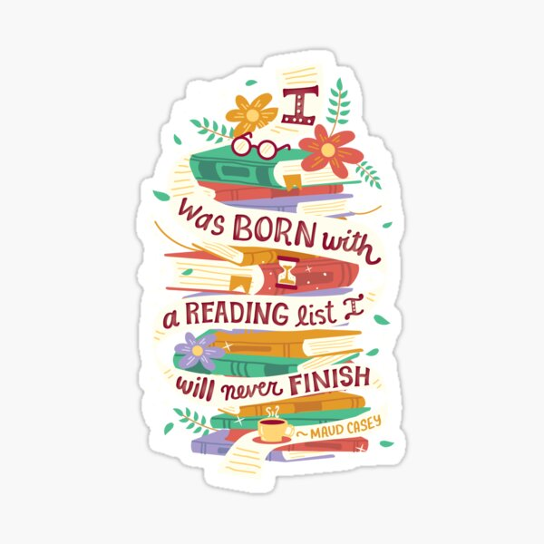 Reading list Sticker