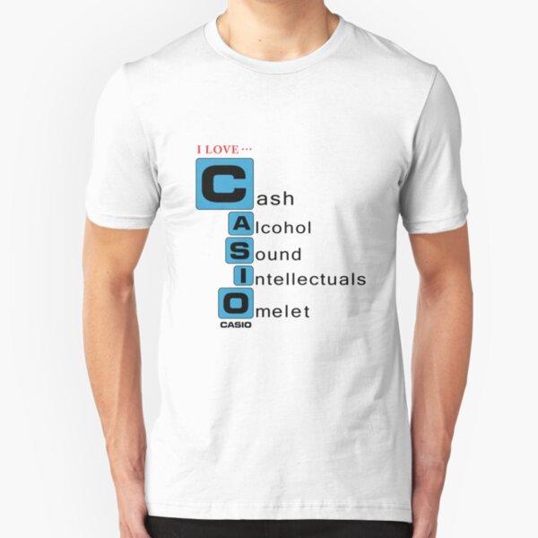 Bootleg Stuff - Casio Slim Fit T-Shirt