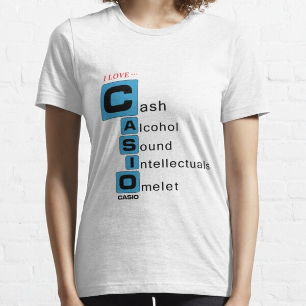 Bootleg Stuff - Casio Camiseta esencial