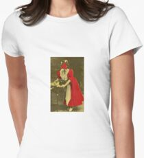 Woman in Red. T-Shirt