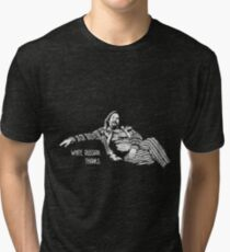 The Big Lebowski - quote Tri-blend T-Shirt