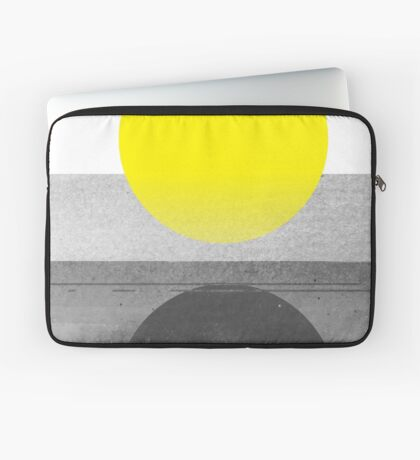 Yellow #abstract  Housse de laptop