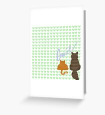 gracie Greeting Card