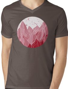 Sunset Mountain ! Mens V-Neck T-Shirt