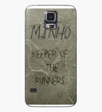 The Maze Runner - Minho Carving  Case/Skin for Samsung Galaxy