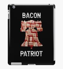 Bacon Patriot - American Liberty Bell - United States of America iPad Case/Skin