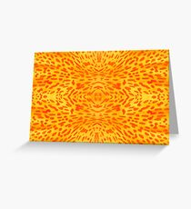 Flower petal macro pattern Greeting Card