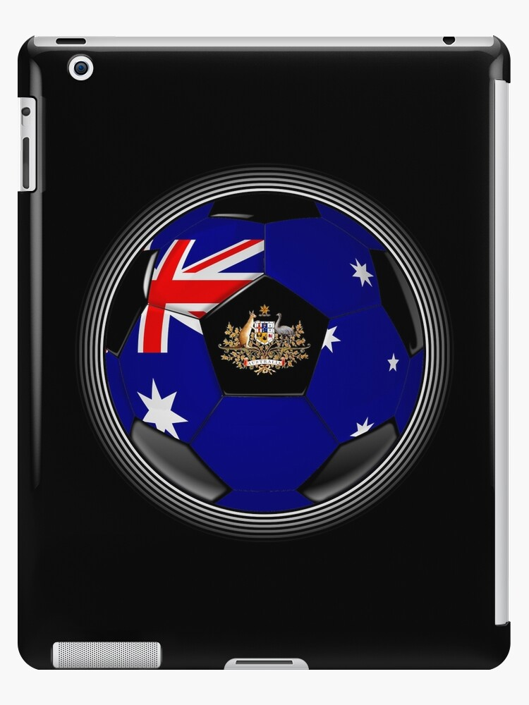Australia - Australian Flag - Football or Soccer by graphix