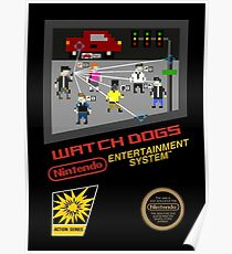 Watch dogs nes black box remake Poster