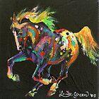Starburst Pony (for Skyhorse) by louisegreen