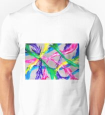 Colourful Nexus - Paint on Perspex T-Shirt