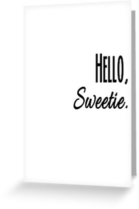 Hello, Sweetie by CupcakeNCompany