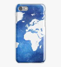 Wonderful world map iPhone Case/Skin