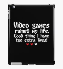 Videogame is my style! iPad Case/Skin