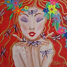 A Little Dragonfly Spell by louisegreen