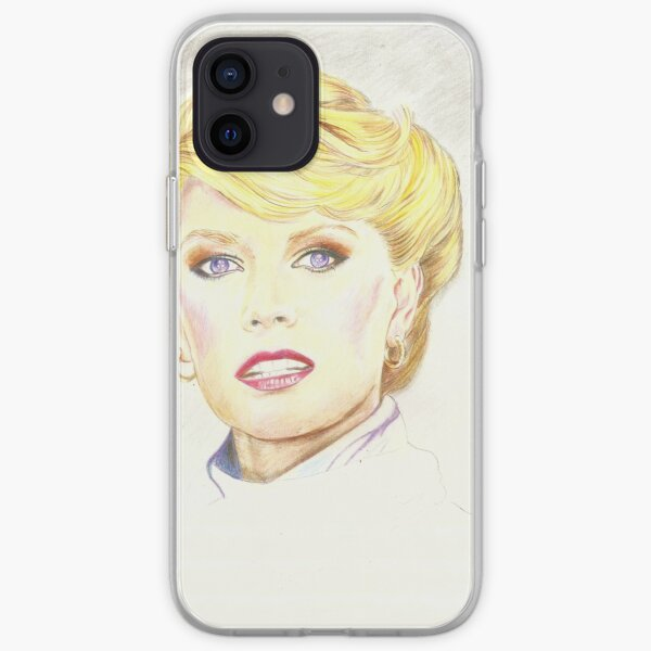 Blond with french twist iPhone Soft Case