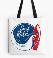 Ride the wave. Extreme sports Tote Bag