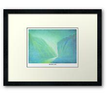 Secret Cove Framed Print