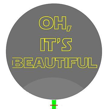 Oh, It's Beautiful - Director Krennic Death Star by LordKeegan
