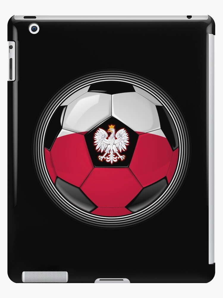 Poland - Polish Flag - Football or Soccer by graphix