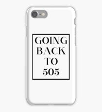Going Back to 505 iPhone Case/Skin