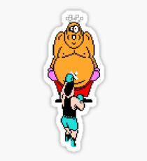 Punch Out King Hippo Sticker