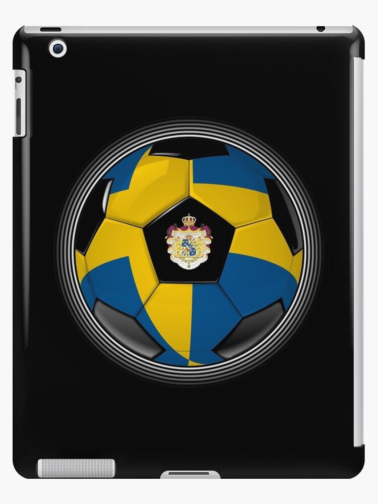 Sweden - Swedish Flag - Football or Soccer by graphix