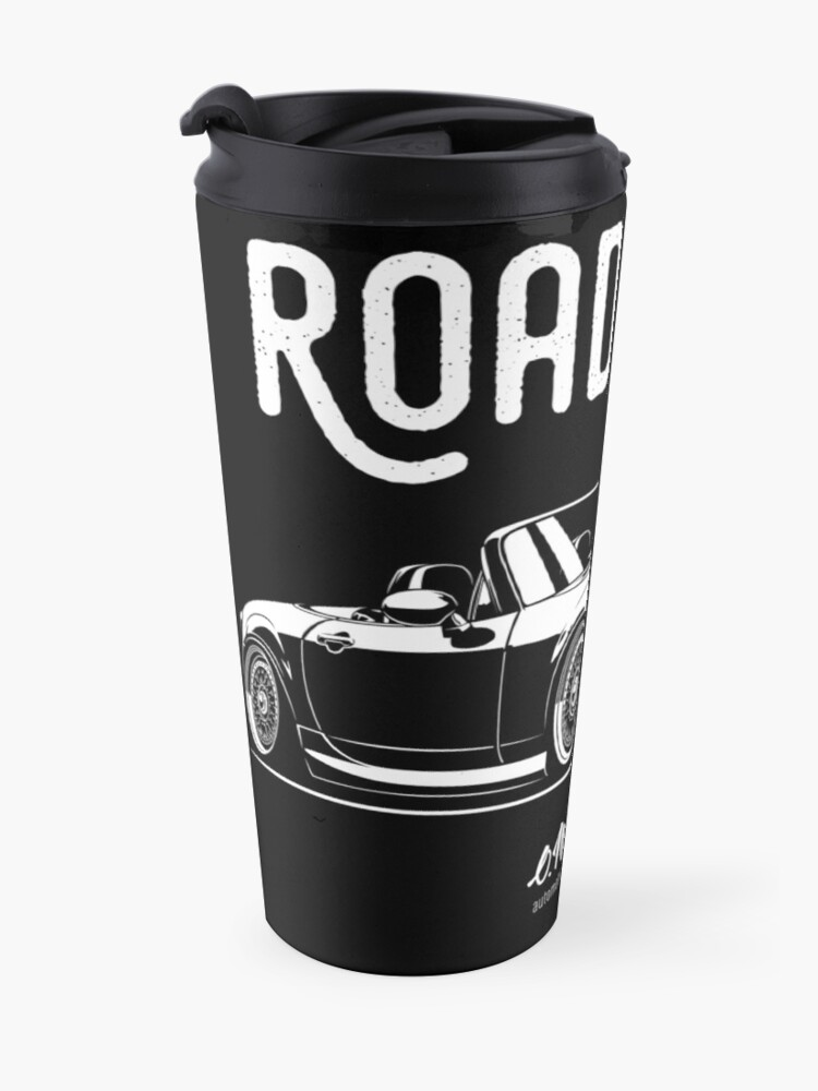 Alternate view of Roadster crew. MX5 Miata (NC) Travel Mug