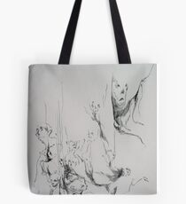 Tripping and falling. Tote Bag