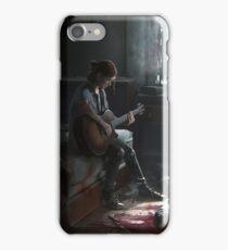 Ellie playing guitar iPhone Case/Skin
