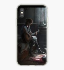 Ellie playing guitar iPhone Case