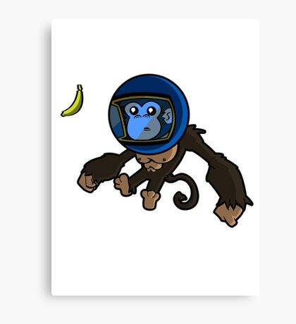Monkey In Space Canvas Print