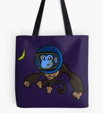 Monkey In Space Tote Bag
