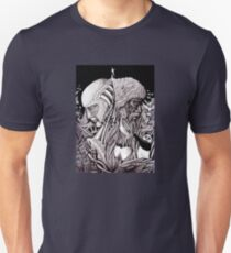 Progress ink pen surreal drawing  Unisex T-Shirt