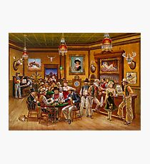 Saloon Photographic Print