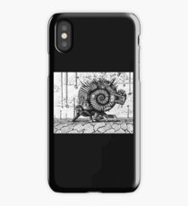 Life in the Shell surreal ink pen drawing iPhone Case/Skin