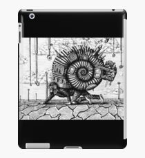 Life in the Shell surreal ink pen drawing iPad Case/Skin