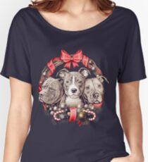 It's a Pit Bull Christmas Women's Relaxed Fit T-Shirt