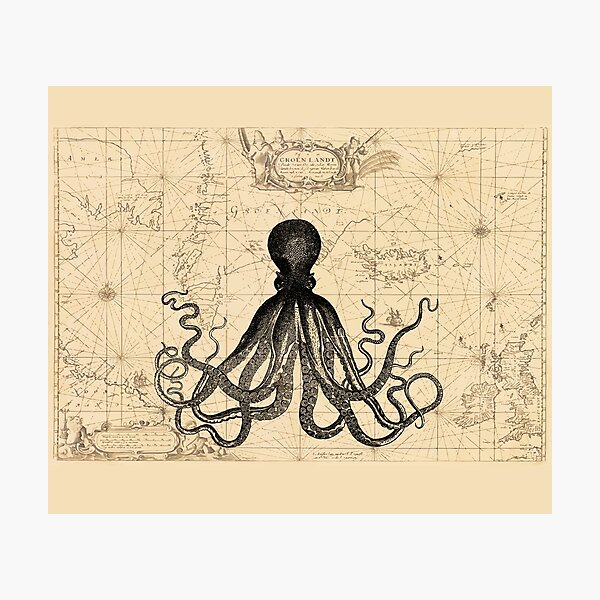 The Kraken Is All Photographic Print