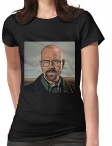Walter White in Breaking Bad Womens Fitted T-Shirt