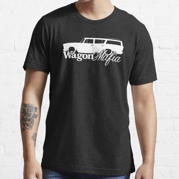 WAGON MAFIA - para los entusiastas de la estación de tren clásico Rambler 1960 bajados Camiseta esencial