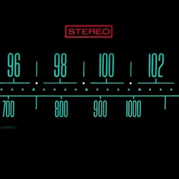 Vintage Stereo Tuner Dial by jdmosher