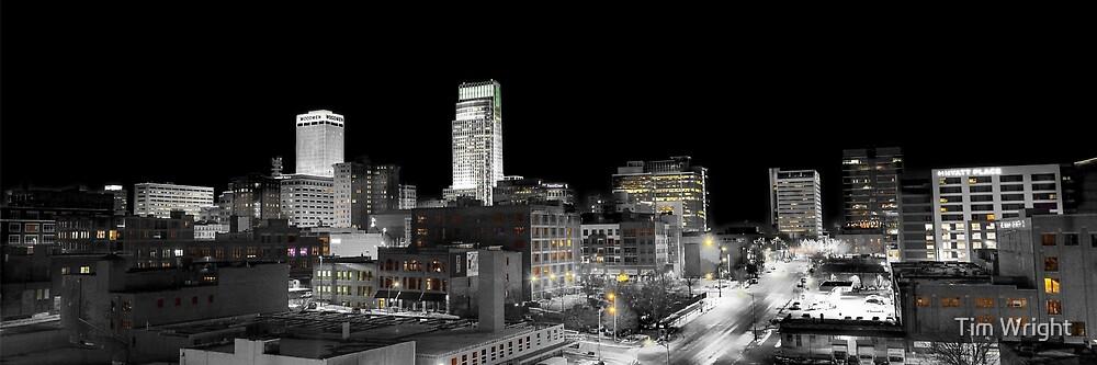 Omaha Night Lights by Tim Wright