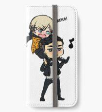Yuri On Ice - Yuri Plisetsky and Otabek Altin iPhone Wallet/Case/Skin