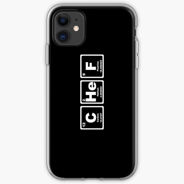 Chef - Periodic Table iPhone Soft Case